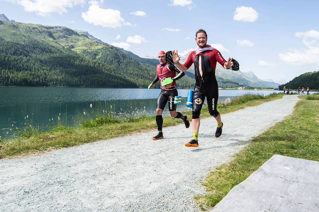 VIVOBAREFOOT Swimrun Event Engadin