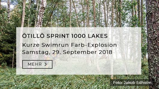 Öttilö Swimrun Sprint 1000 Lakes