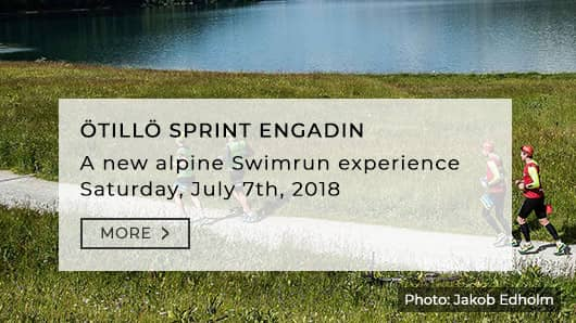 Öttilö Swimrun Sprint Engadin