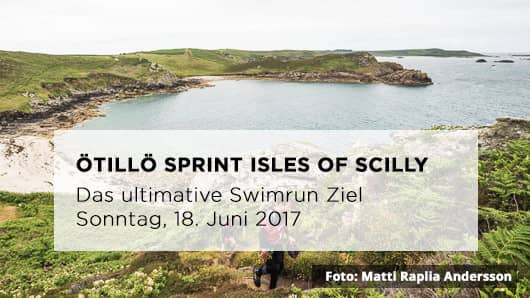 Öttilö Swimrun Sprint Isles of Scilly