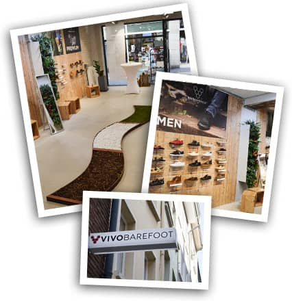 concept store d sseldorf vivobarefoot deutschland. Black Bedroom Furniture Sets. Home Design Ideas