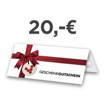 Gift certificate, 20.- Euro
